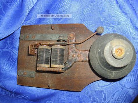 Alte Hausklingel Glocke Messing Jugendstil Um 1920