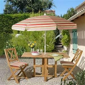 Parasol De Jardin : meubles jardin 3 suisses 10 photos ~ Teatrodelosmanantiales.com Idées de Décoration