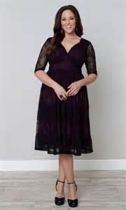 kiyonna wedding dress tiers of lace dress black lace magenta lining 39 s plus size