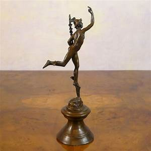 Mercury / Hermes flying - Statues bronze - Sculptures