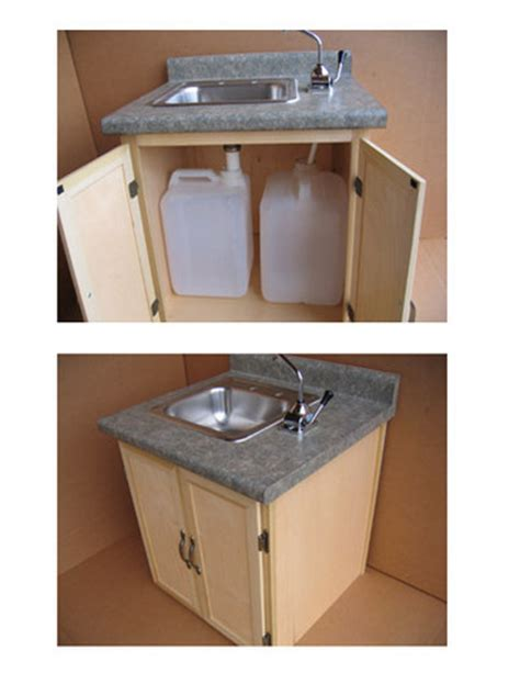 indoor no plumbing sink sink without plumbing perfect for our cabin at the lake
