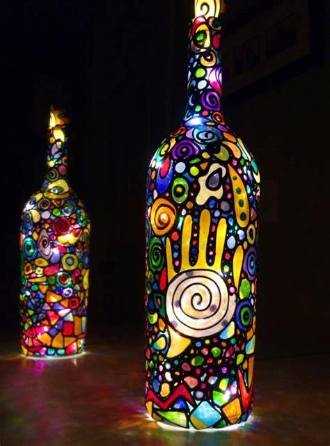 fabriquer une lampe  idees pour occuper vos enfants
