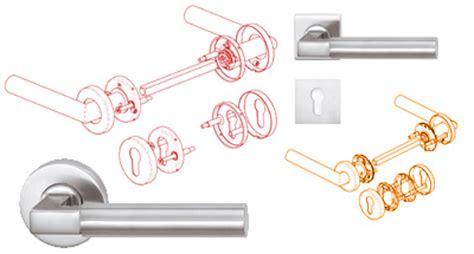amz design montage sur rosace ou plaque d une poign 233 e de porte portes syst 232 mes d ouverture