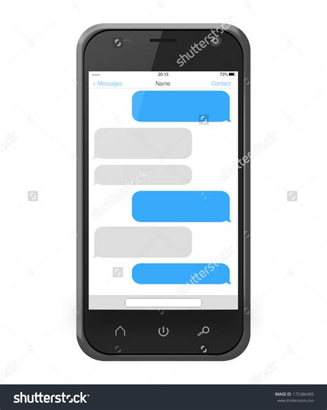 Sms Template Iphone by Iphone Message Clipart Clipground