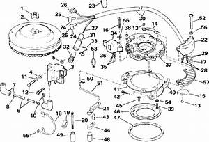Evinrude Ignition Parts For 1993 4hp E4rdhetb Outboard Motor
