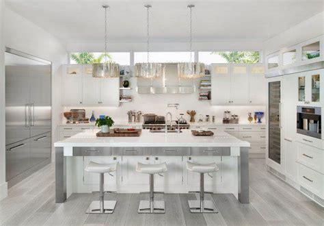 cool kitchen designs  gray floors grey kitchen