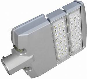 Led w modular street lighting area dimmable