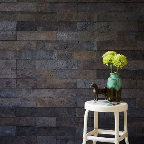 muratto cork wall covering gray west elm