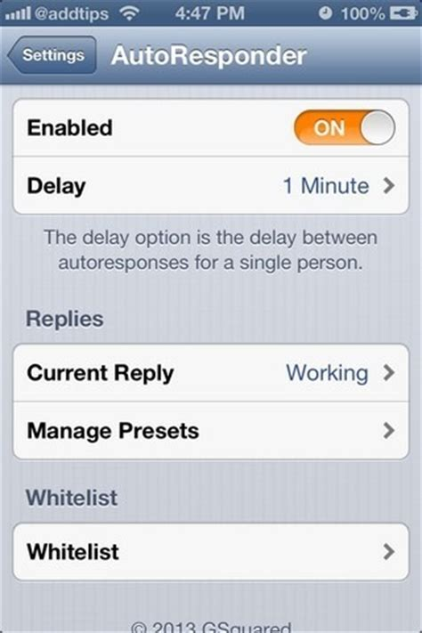 iphone auto reply text set up auto replies for sms imessage on iphone with