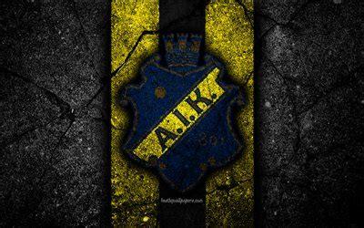 haemta bilder  aik fc emblem allsvenskan fotboll