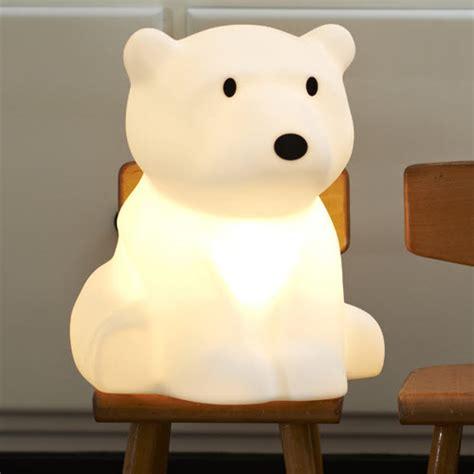 modele de deco chambre déco ours polaire pour la chambre de bébé