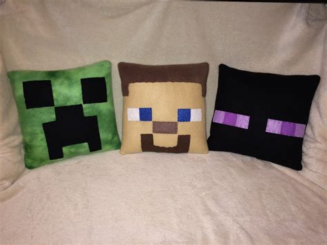 inspired plush pillows by cutesykats on deviantart minecraft inspired plush pillows by cutesykats on deviantart Minecraft