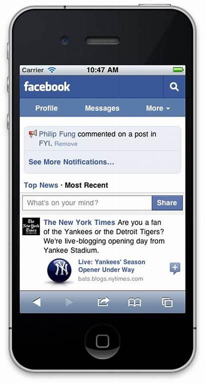 Mobile Version Site Iphone Website Ads Phones
