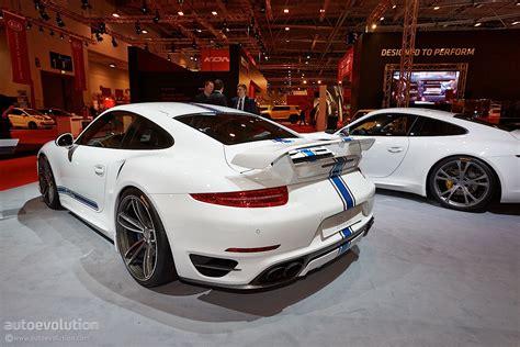 Essen 2018 Techart Porsche 911 Turbo Live Photos