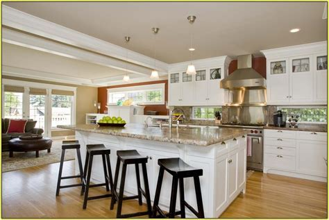 Kitchen Islands With Seating For 4   Home Design Ideas