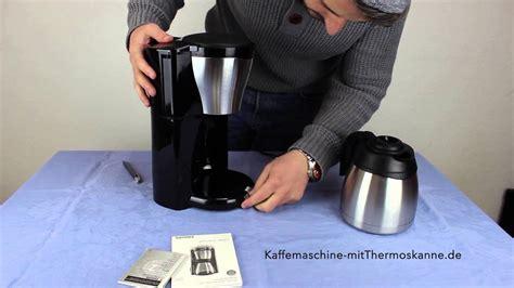 philips hd7546 20 unboxing kaffeemaschine mit thermoskanne