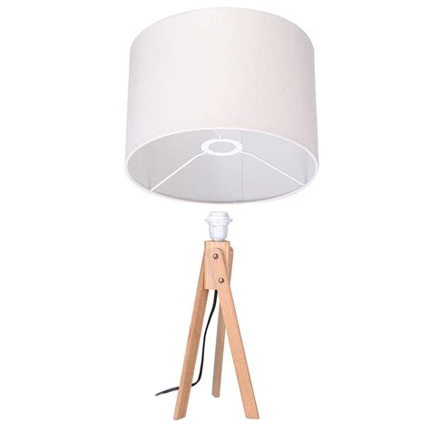 bedroom light stand modern tripod table desk floor lamp wood wooden stand home 10527 | 11dsl001 tri01 wod 04