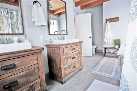 Modern Rustic Bathroom Tile by Rustic Modern Farmhouse Bath Tour Sources White