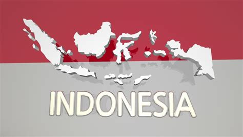 indonesia flag stock footage video shutterstock