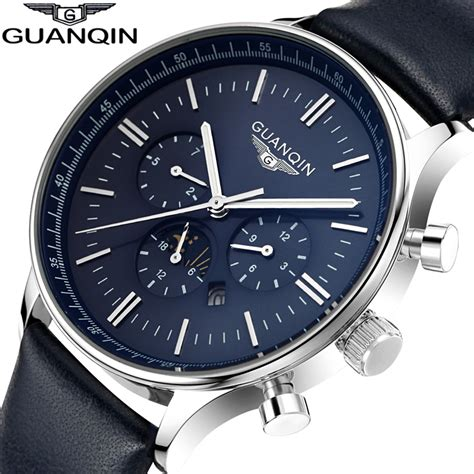 designer mens watches watches luxury top brand guanqin new fashion s big