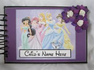 Disney Princess Autograph Book