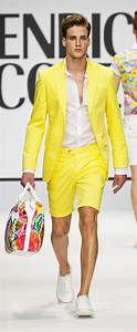 Mens Yellow Blazer - Trendy Clothes