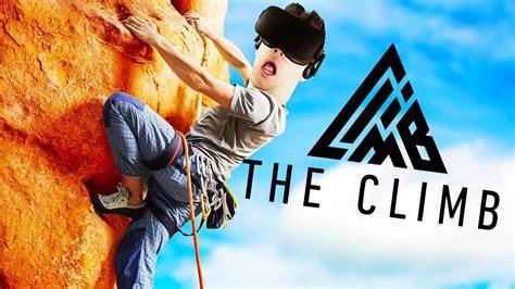 Amazing Rock Climbing The Climb Gameplay Oculus
