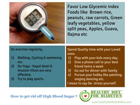 wonderful diet  high blood sugar levels