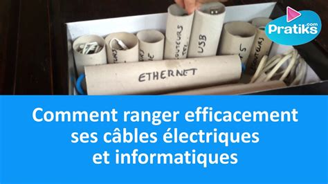 boite pour ranger les fils electriques l astuce g 233 niale pour ranger les c 226 bles 233 lectriques et informatiques