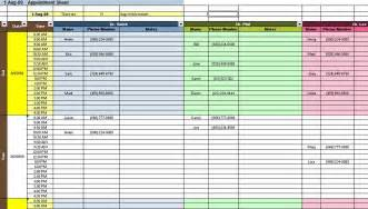 Household Budget Sheet Template Appointment And Scheduding Spreadsheet Templates