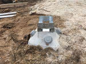 every deck starts with good footings fine homebuilding