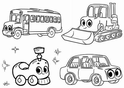 Coloring Pages Morphle Printable Cars A4 Boys