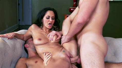 Daring Brunette Is Having Threesome Fuck Xbabe Video