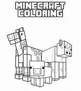 Minecraft Coloring Pages Printable sketch template