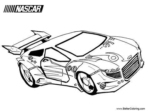 nascar coloring pages nascar coloring pages work free printable coloring