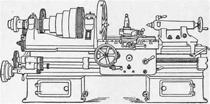 Engine Lathe Machine Lathes Swing Tool Fig