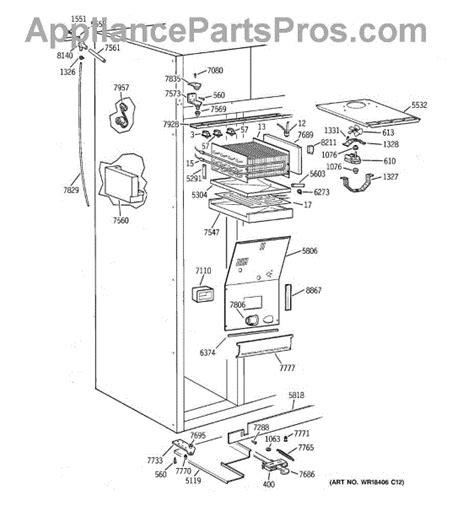 parts  ge ziswdca freezer section parts appliancepartsproscom