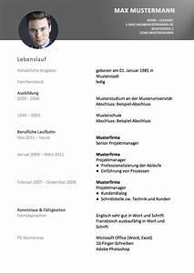 Lebenslauf Online Bewerbung : lebenslauf vorlage ~ Orissabook.com Haus und Dekorationen