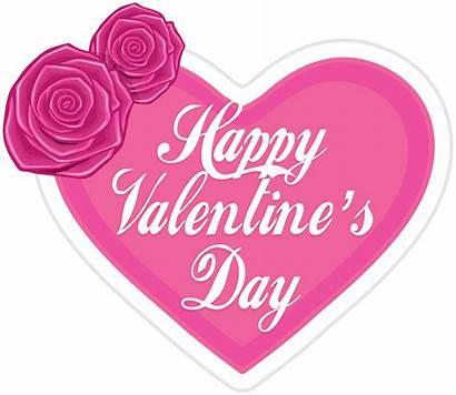 Valentine Valentines Happy Clip Heart Transparent Clipart