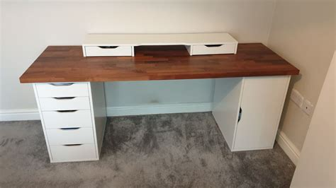 I'd been reading about standing desks and had been curious about them for a while. IKEA ALEX DESK BUILD KARLBY COMPUTER DESK in LS15 Leeds ...