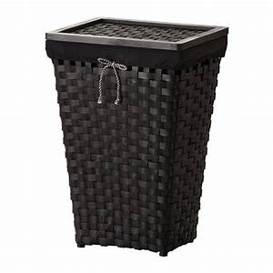 KNARRA Laundry basket with lining - IKEA