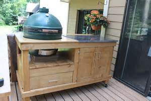 build  rolling cart   grill