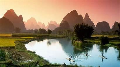 China Wallpapers River Li Guilin Wonderful Chine