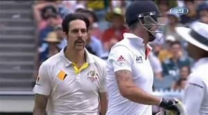 When Kevin Pietersen fired up Mitchell Johnson, watch ...