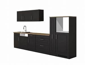 Küchen Ohne Hängeschränke : k che k ln k chenzeile k chen leerblock ohne e ger te 330 cm grau graphit ebay ~ Sanjose-hotels-ca.com Haus und Dekorationen