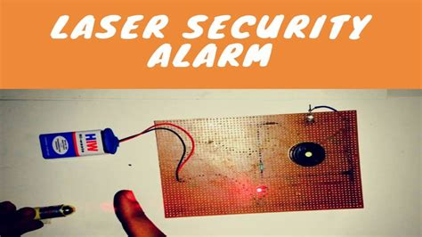How Make Laser Security Alarm Home Youtube