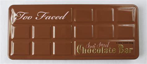 faced semi sweet chocolate bar original chocolate bar revew swatches comparison