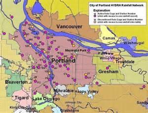 Portland Oregon City Limits Map