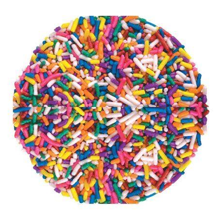 color sprinkle assorted color sprinkles 10 pounds walmart