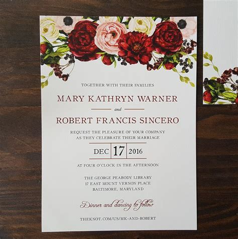 burgundy red  blush flowers including roses peonies